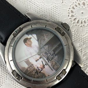 Game Time Accessories - Vintage Babe Ruth Baseball Watch by Game Time